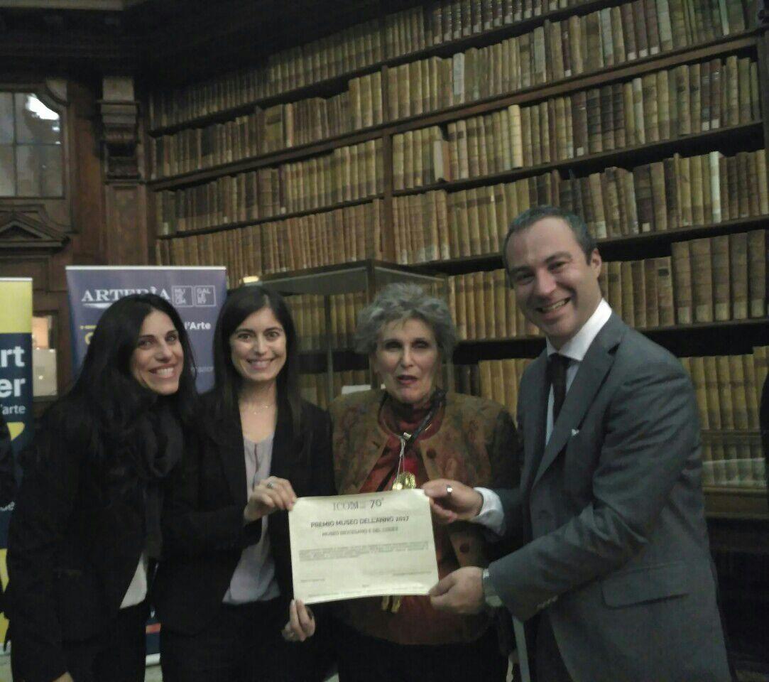 Menzione speciale per il Museo Diocesano e del Codex -finalista al Premio ICOM Italia - Museo dell'anno